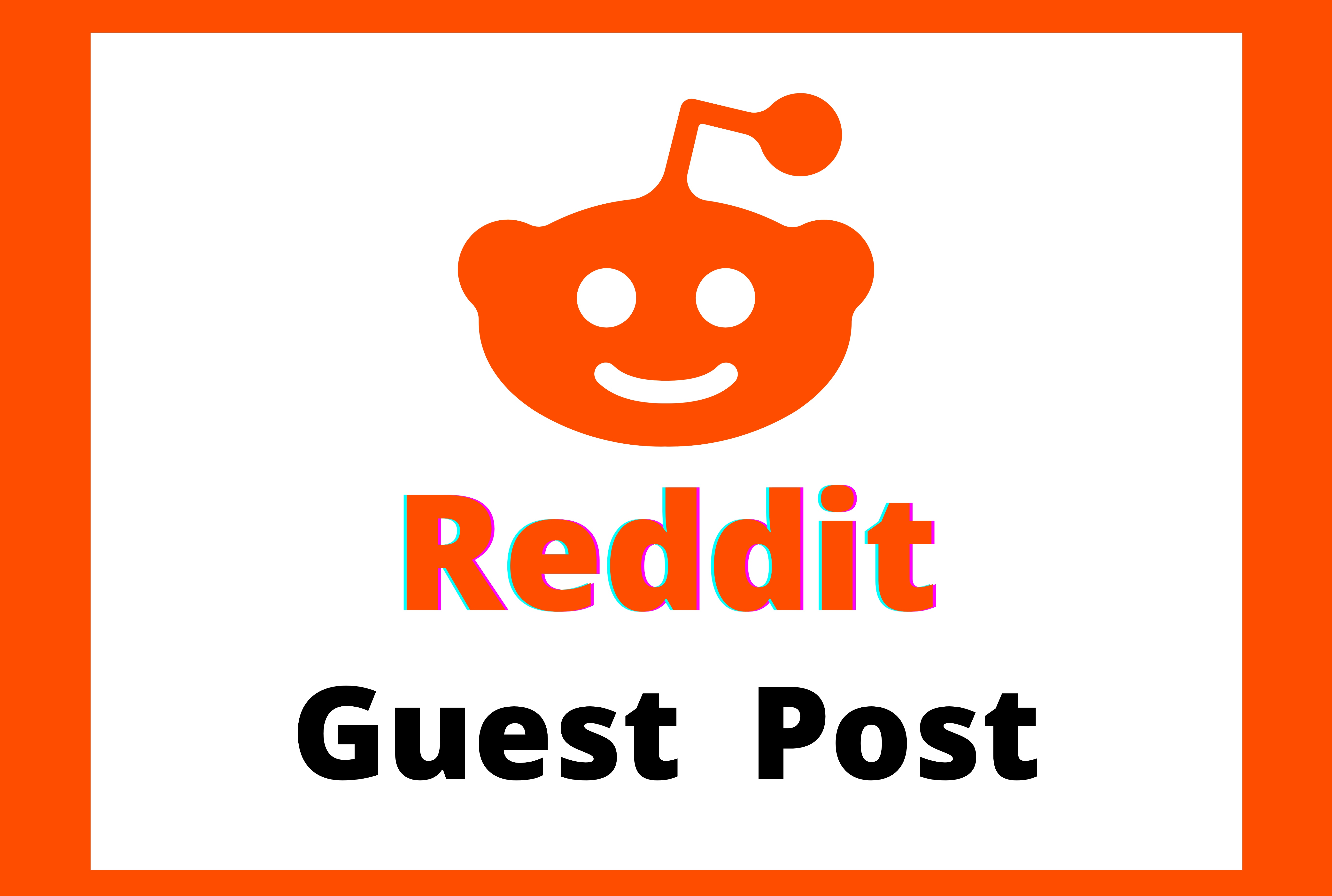Promote website by 5 High Quality Reddit Guest Post