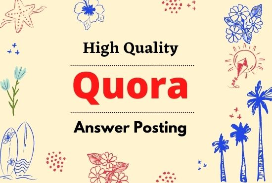 Guaranteed traffic by 10 High-Quality Quora Answer