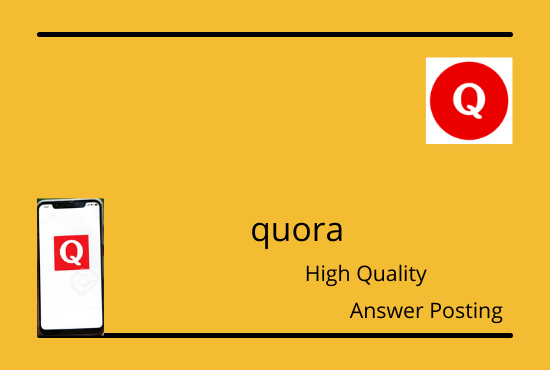 I will improve your website traffic by 3 high quality quora answer