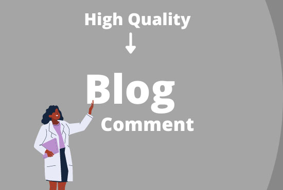 I will do 50 niche relevant backlink manual blog comments