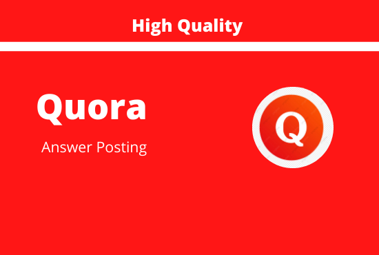 I will promot your website by 10 high quality quora answer