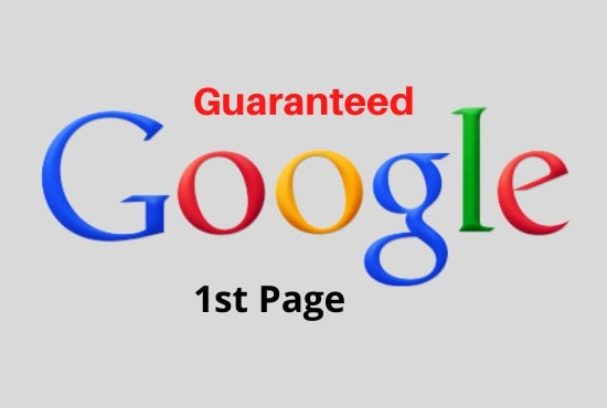 I will do complete seo to rank your website on google 1st page