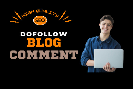 I will do 50 Manual Dofollow Blog Comments With High Da Pa