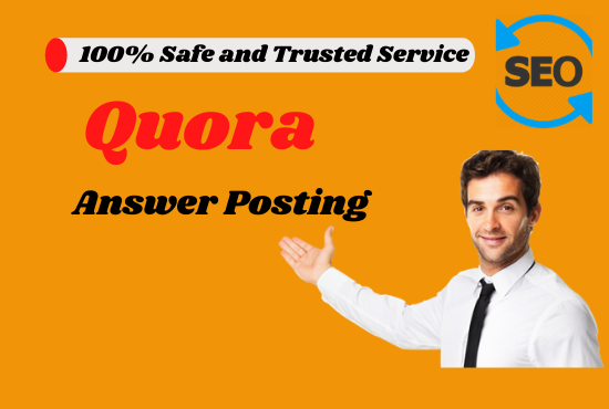 I will provide 10 high quality quora answers with backlink for your website
