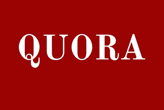 Guaranteed 20 high quality quora answer for your website traffic