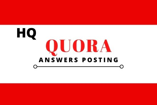 Promote Your Website with High Quality 5 Quora Answer posting target traffic