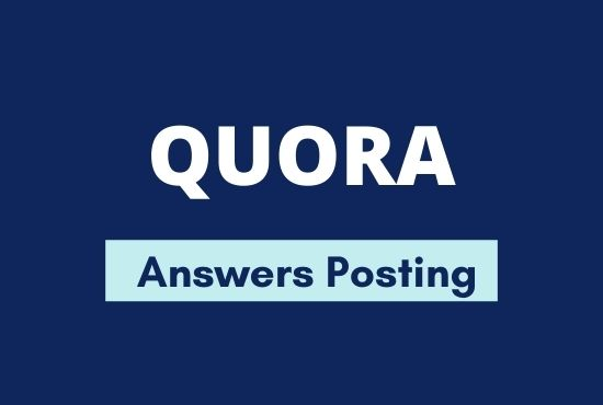 Promote Your Website with High Quality 10 Quora Answer posting