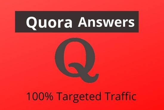 developed your web sites with 3 high quality quora answers within backlinks