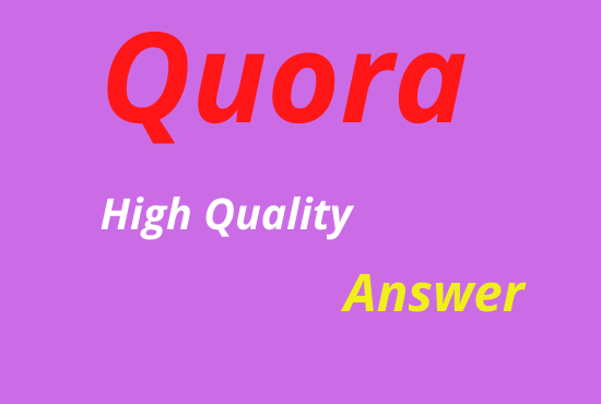 Granted targeted traffic with 5 Quora answers