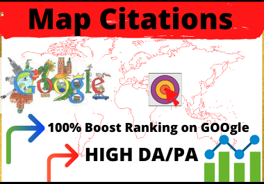 150 Google Maps Citation to Boost and Rank Your Local Citations for Local Business