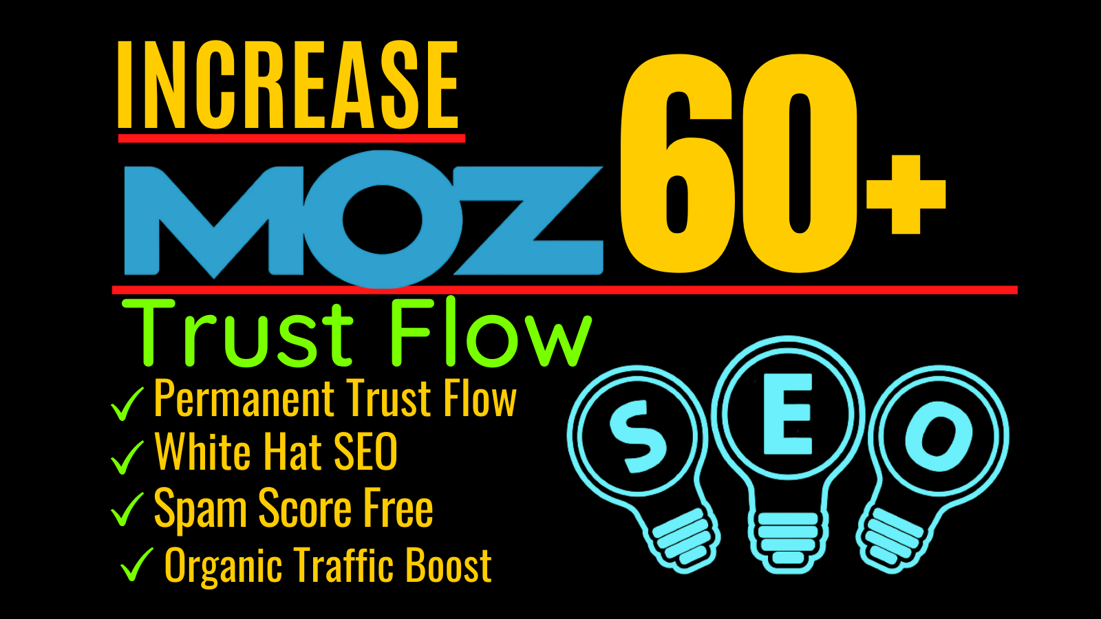 Increase website Domain Authority Moz DA 60 plus