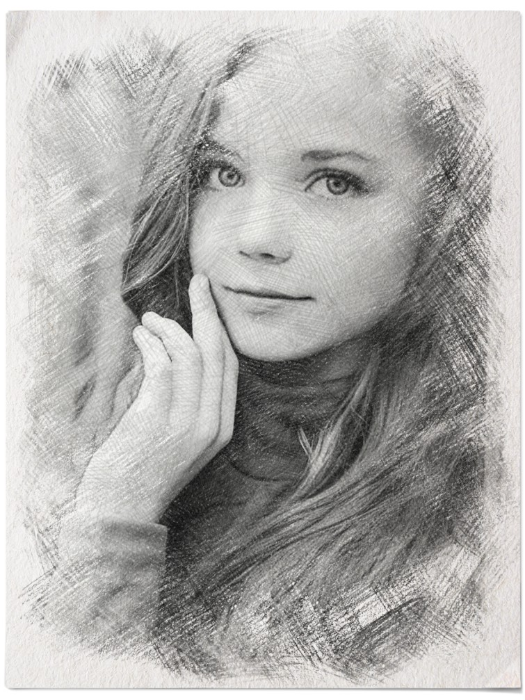 I will do pencil sketch based on your photo within 24 hours