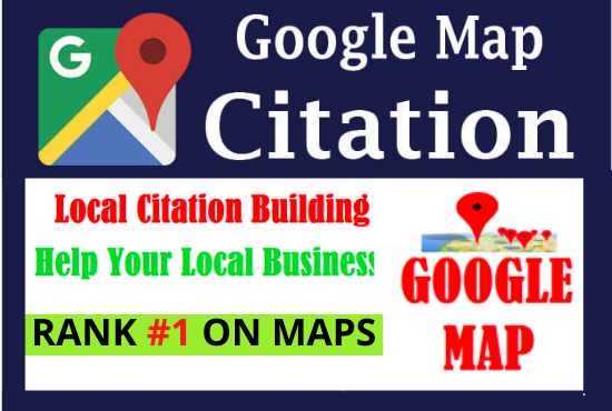 Manual 200 Google Map Citation high authority backlinks local citation seo must rank your website