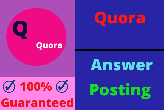 Guaranteed Targeted Traffic Your Website With 5 High Quality Quora Answer