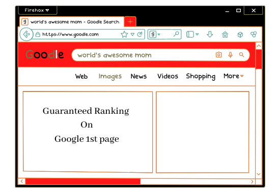 Provide guaranteed service google 1st page ranking with white hat link-building in 3 keyword.