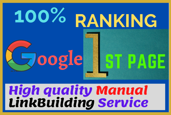 I will Rank Your Website with Most Effective Linkbuilding Service