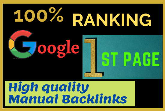 Rank on google 1st page with Most Effective Linkbuilding process