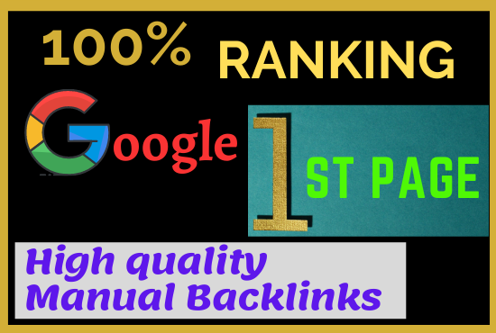 Google 1st Page Ranking with Most Effective Process of Linkbuilding
