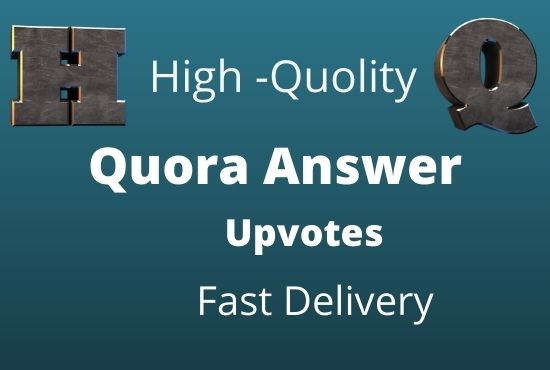 I well Get 10 high quality quora answers for your website