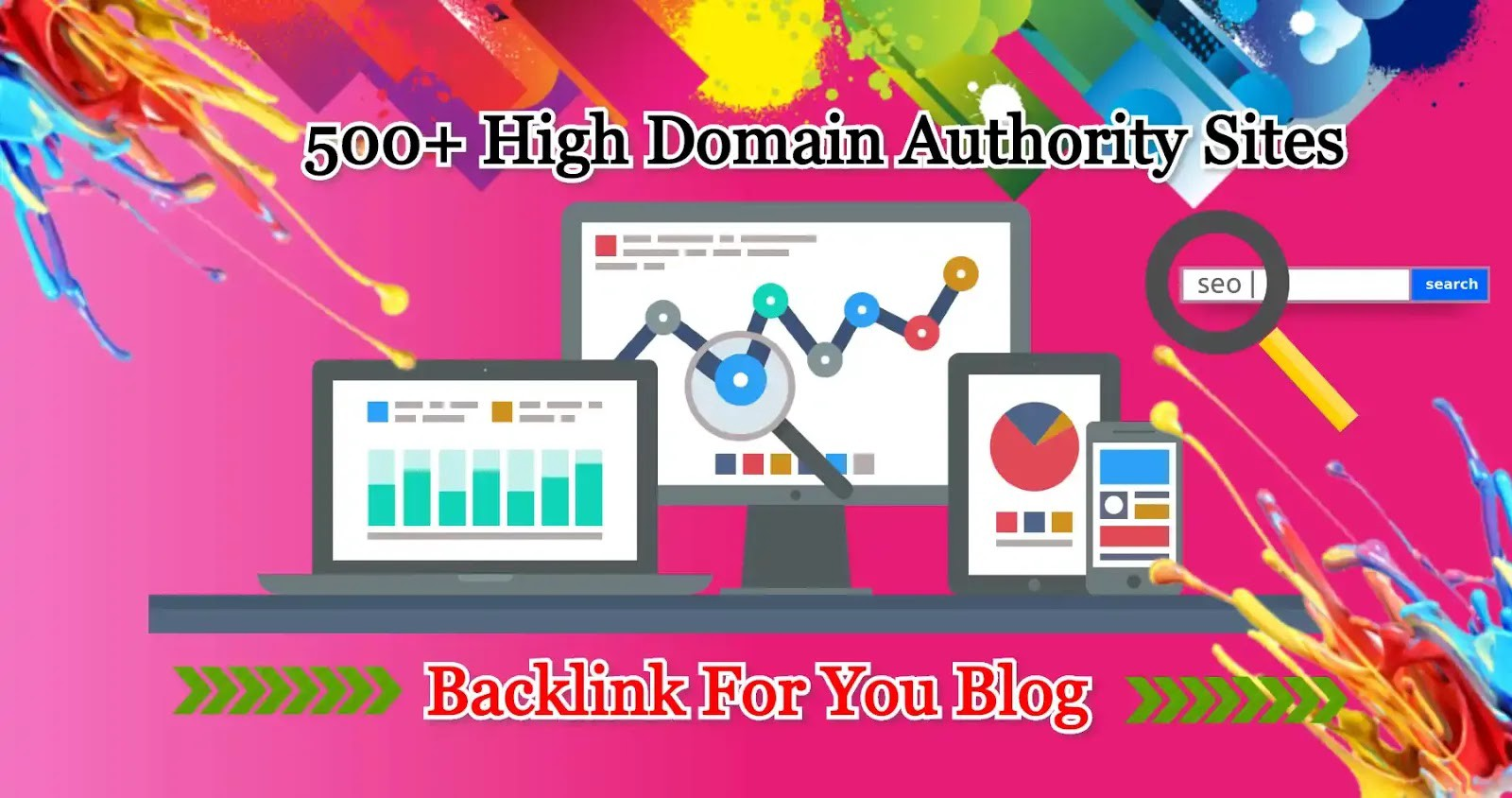 i will make service high authority 500 dofollow blog comment