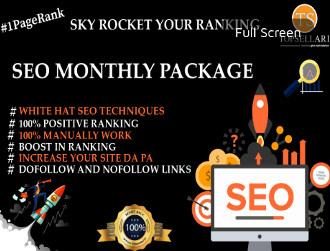 provide Monthly HQ SEO backlinks service. All In One SEO Package For Your WebSite