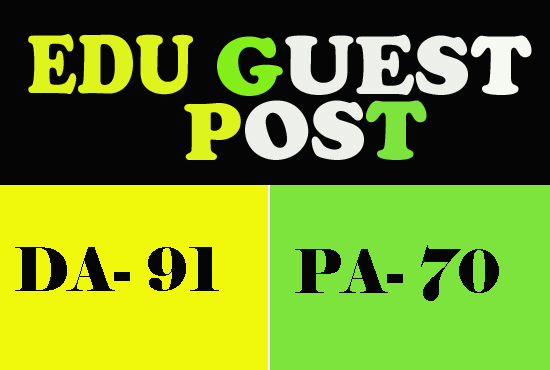 Top Universities Edu Guest Posts - with DA90+