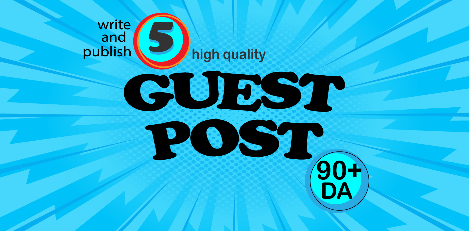Write and Publish 5 Productive Guest Post on Individual Site.