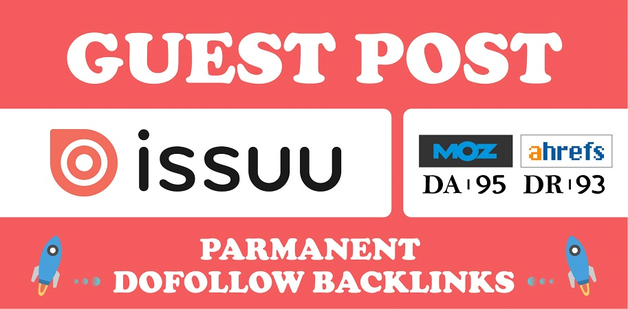 Guest Post on issuu. com with DoFollow Links
