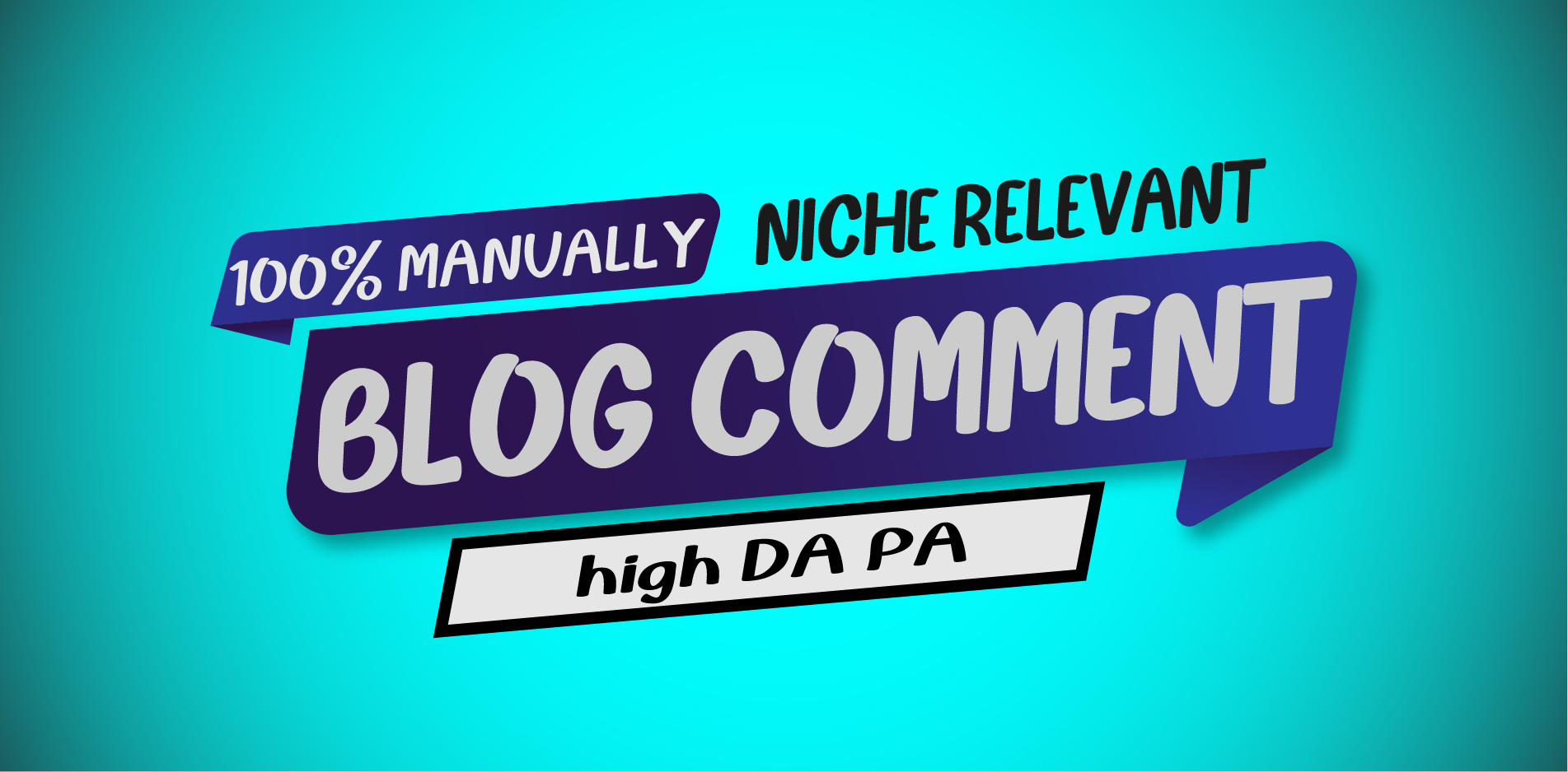 100 niche relevant blog comment create manually