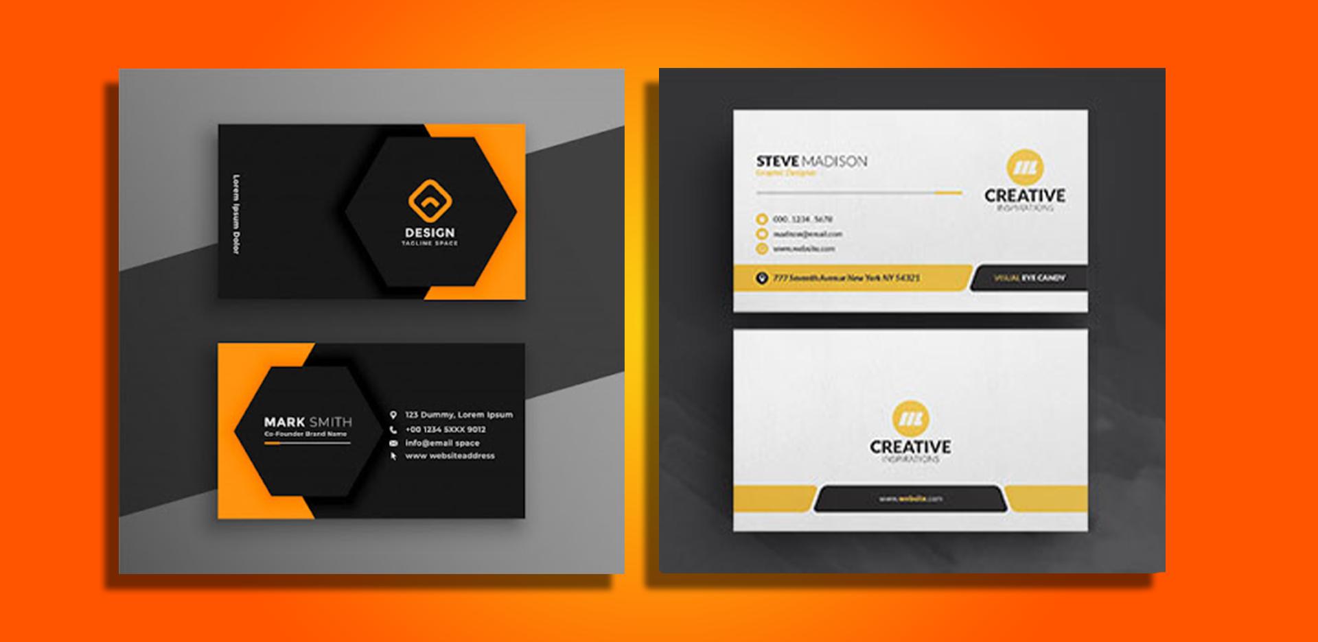 Professional & Unique Business Card Design For Your Business