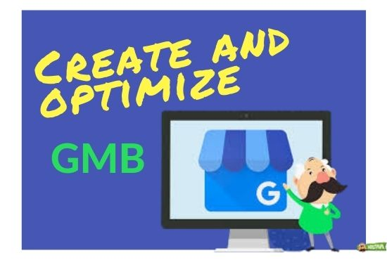 I will create gmb and set up,  google my business listing for local SEO