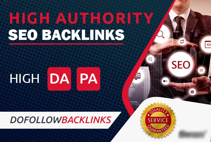 I will provide You 100 High Quality DR 50 To 70 Dofollow Backlinks SEO Service