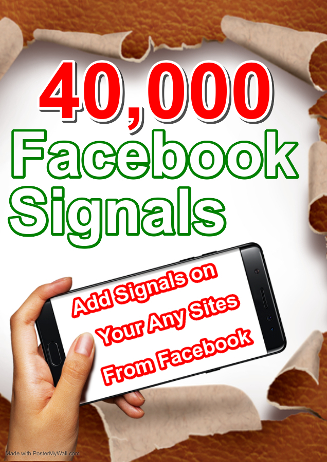 Buy 40,000 Seo social signals Grow Your Sites