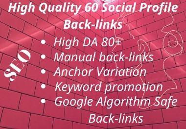 Manually Do-Rank Your Website New Profiles Backlinks