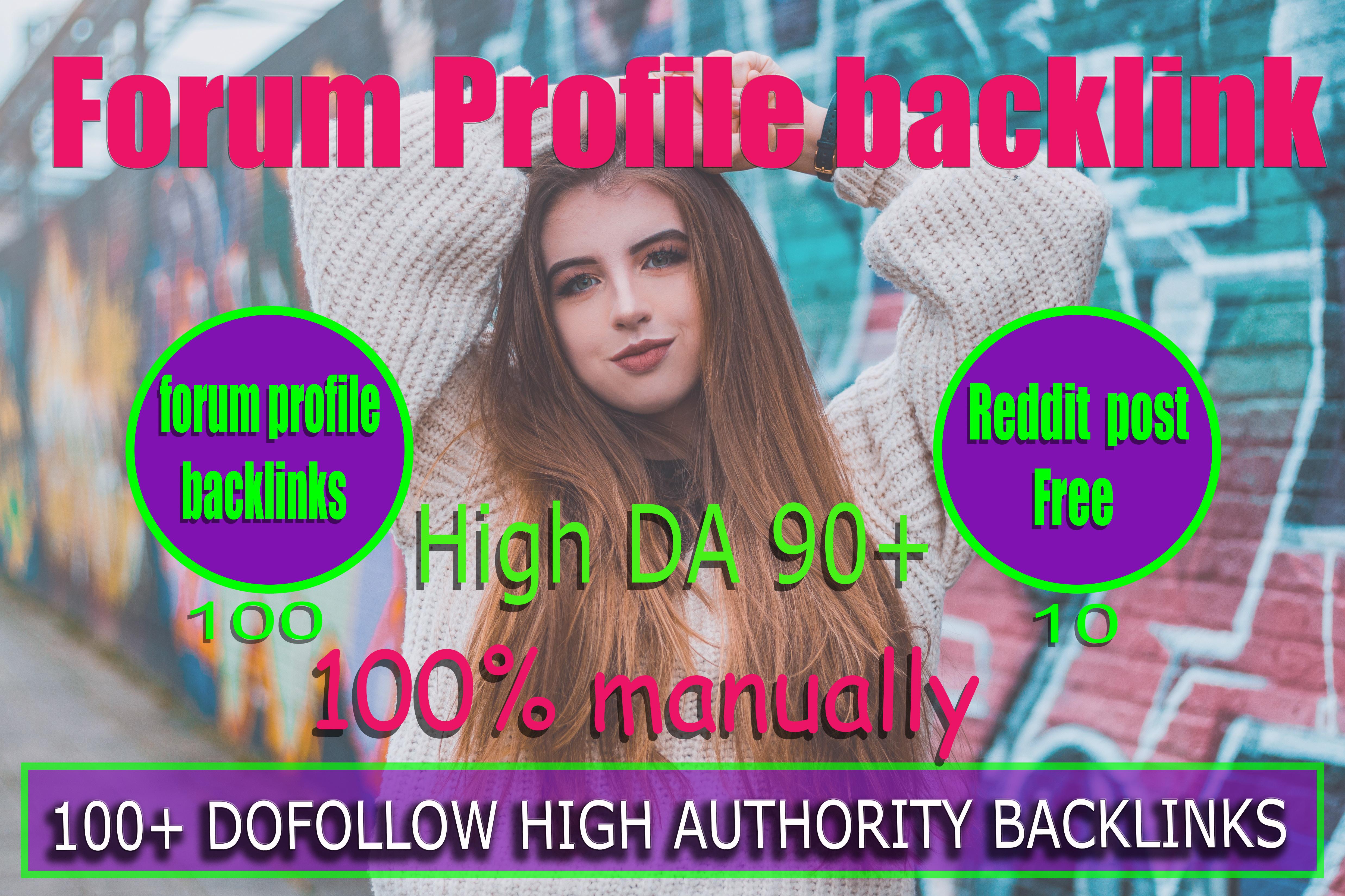 I will create 1000 high quality da do follow pr9 forum profile backlinks