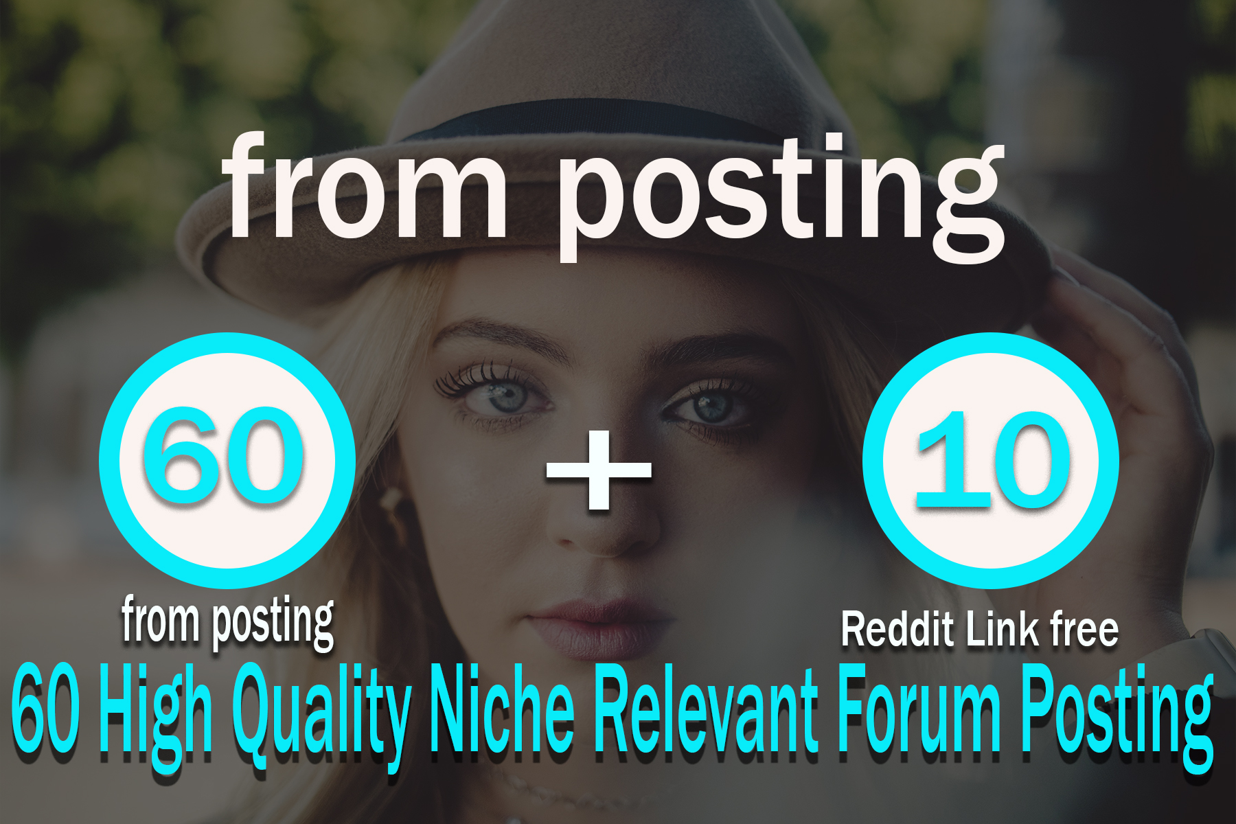 60 High Quality Niche Relevant Forum Posting