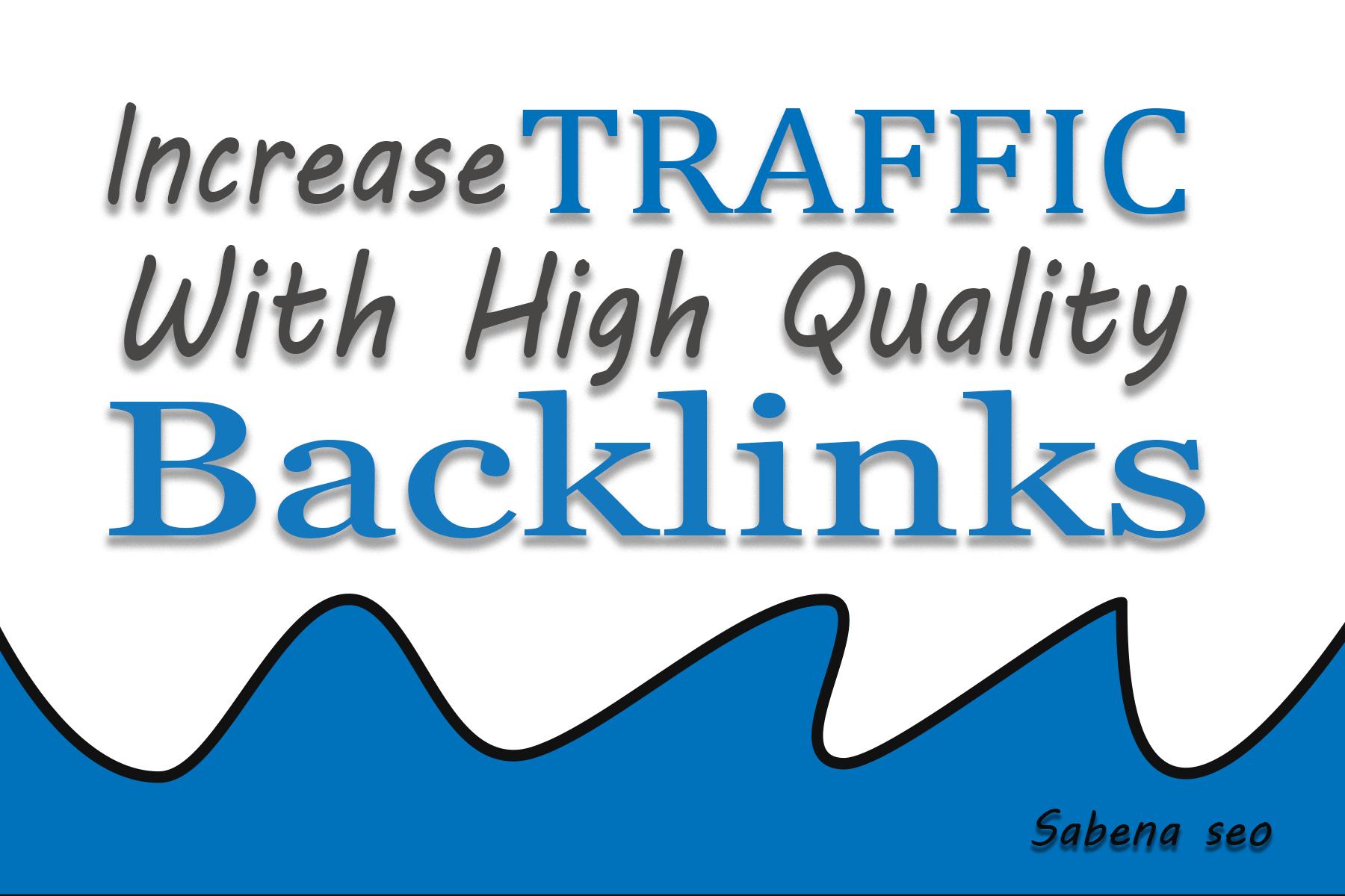 I will create 70 powerful da 70 pr9 high authority do follow backlinks