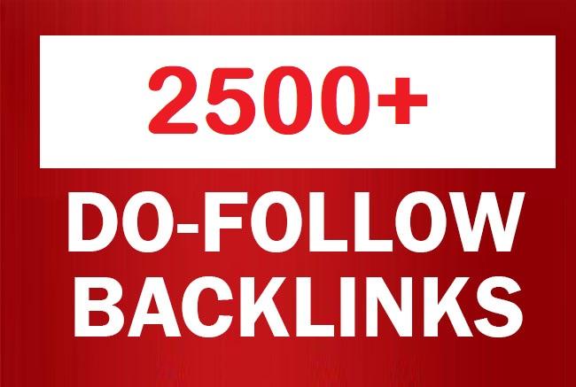 2500+ Do follow Blogs Backlinks high PR-0 - PR-9 And DA 80+ / Blast Your SEO Ranking