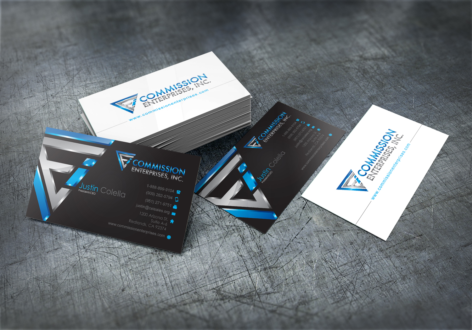 You get will get UV spot Business Card in cheap cost.