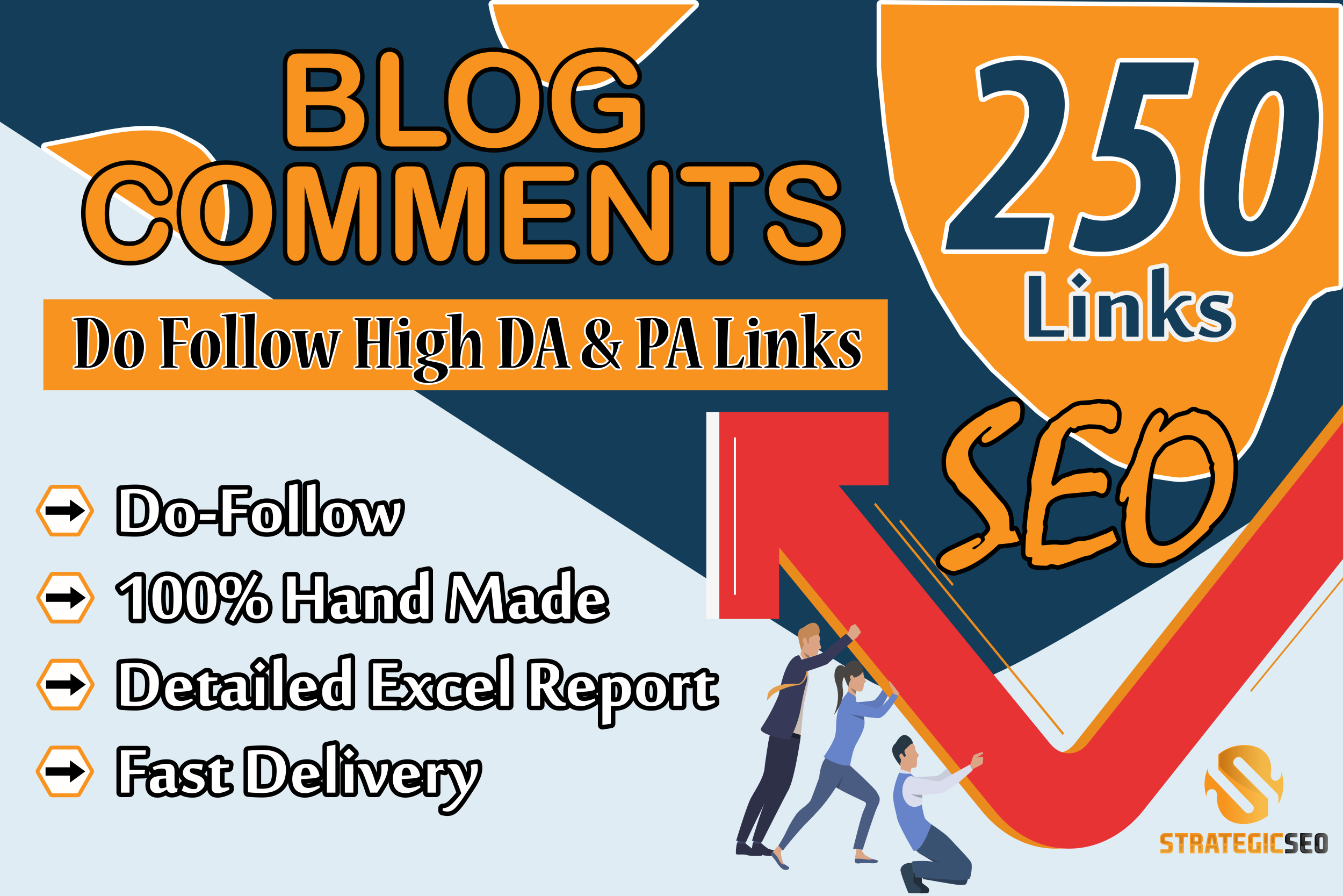 i will provides high-quality and Hnad Made Blog Comment