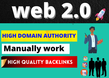 I will Create Manually 20 High authority web 2. 0 backlinks for Boost SEO Ranking