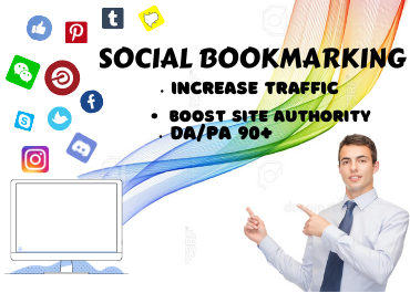 I will create manually 30 social bookmark for your site rank