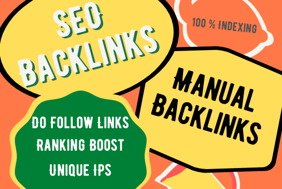 I will provide off page SEO services on high authority sites