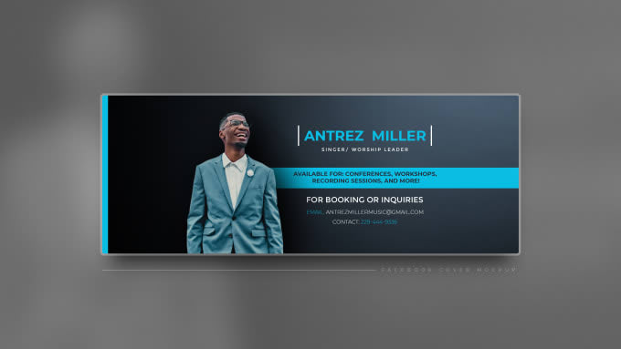 I will professionally design social media banners &facebook cover