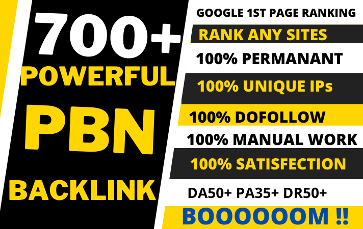 700 + Permanent Blog Post on aged expired web 2.0s blogs for your website/video/blog/page