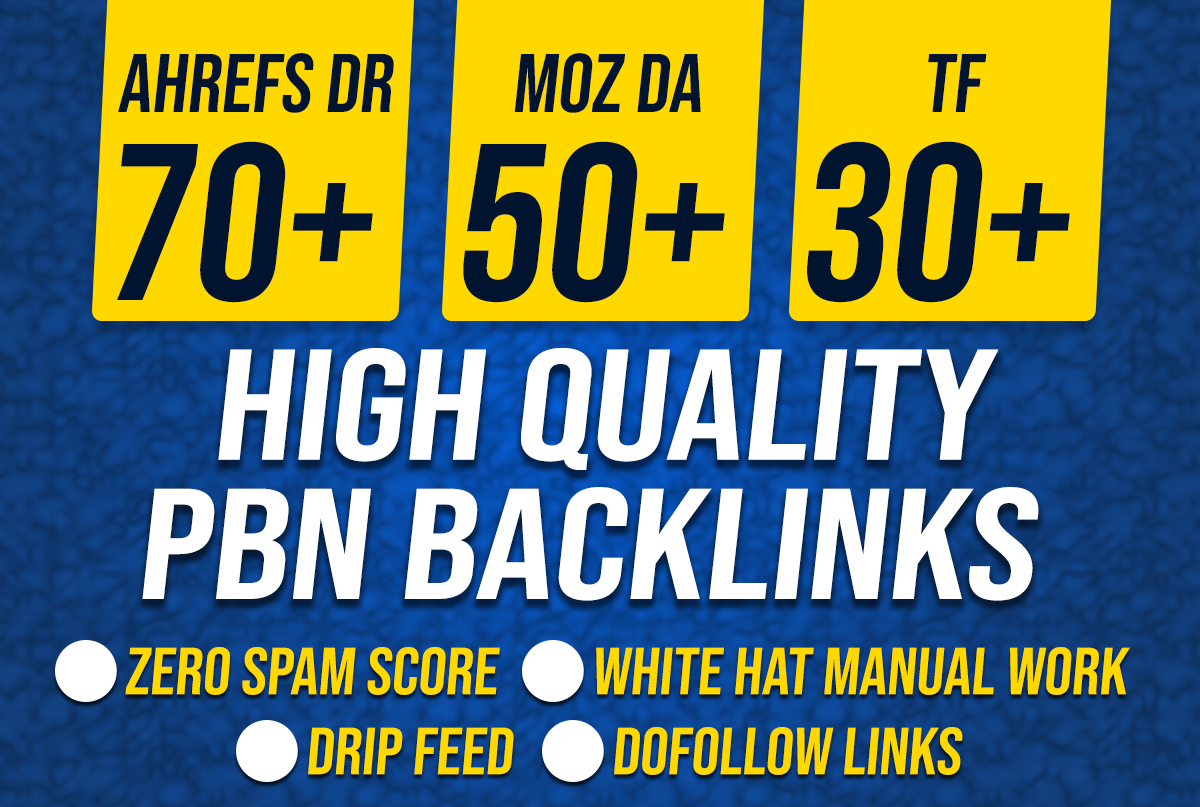 I will build 150 ultra high authority contextual dofollow backlinks offpage seo