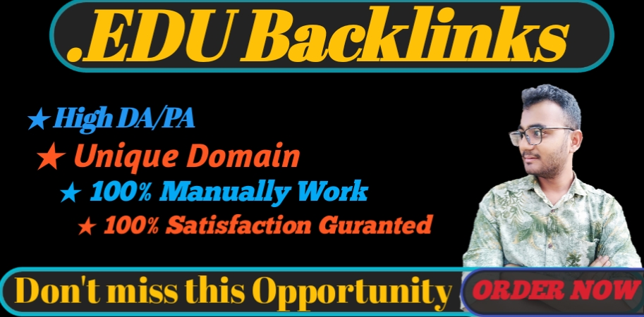 I will provide HQ 10. EDU/. GOV backlinks for your SEO on google ranking