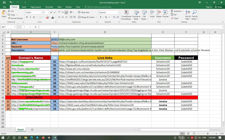 I will provide HQ 10 .EDU/.GOV backlinks for your SEO on google ranking