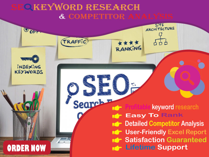 I will provide 3 unique SEO keyword research to rank your site