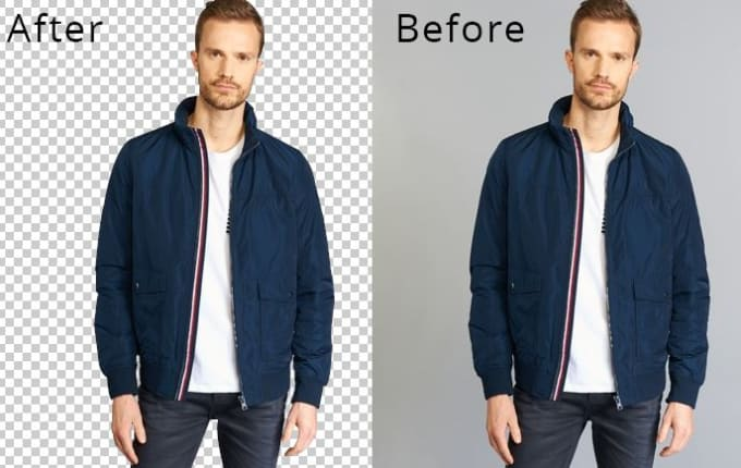 I will remove background from images professionally